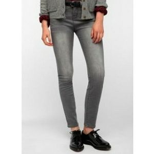 BDG Urban Outfitters Mid Rise Grey Skinny Jeans